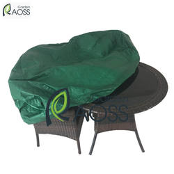 Fast Delivery -130 Gsm Reversible Green & Black PE Waterproof Garden Furniture Cover