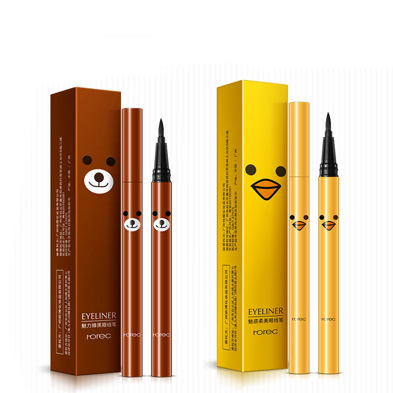 Herbal [ Cosmetics ] Eyeliner For Makeup Private Label HanChan Charm Black Silky Smooth Waterproof Eyeliner Pencil For Eye Makeup Cosmetics
