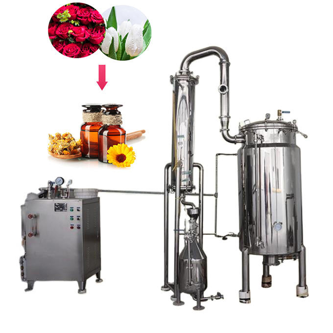 Commercial rosemary oil extraction rose distillation oil machinery cloves essential oil distiller