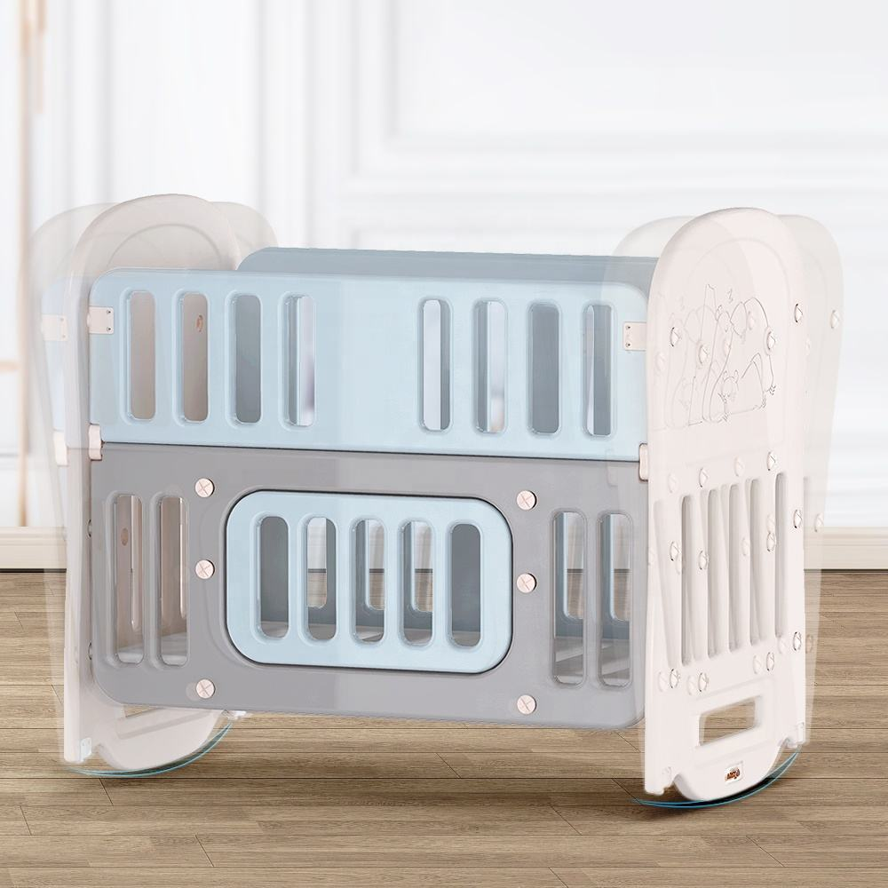 Baby Furniture Mid Century Modern Baby Crib Bed Factory Price Multifunctional Baby Bassinet/Rocking Crib/Baby Cot Baby cradle