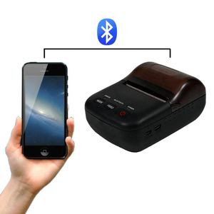 Nirkabel Bluetooth Termal Portabel Mini Printer dengan Baterai Isi Ulang HCC-T12BT