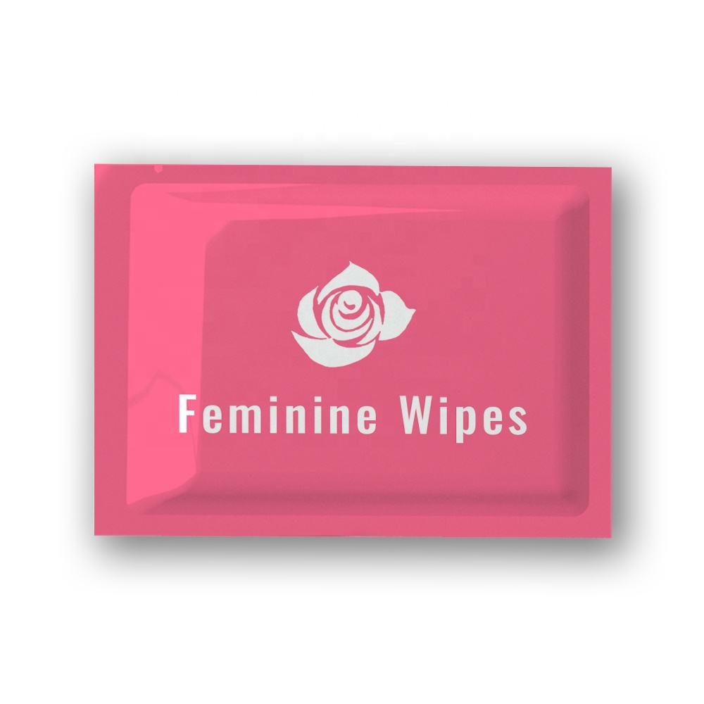 customized feminine intimate hygiene wet wipes