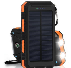 2020 newest solar power bank 40000mah for travel