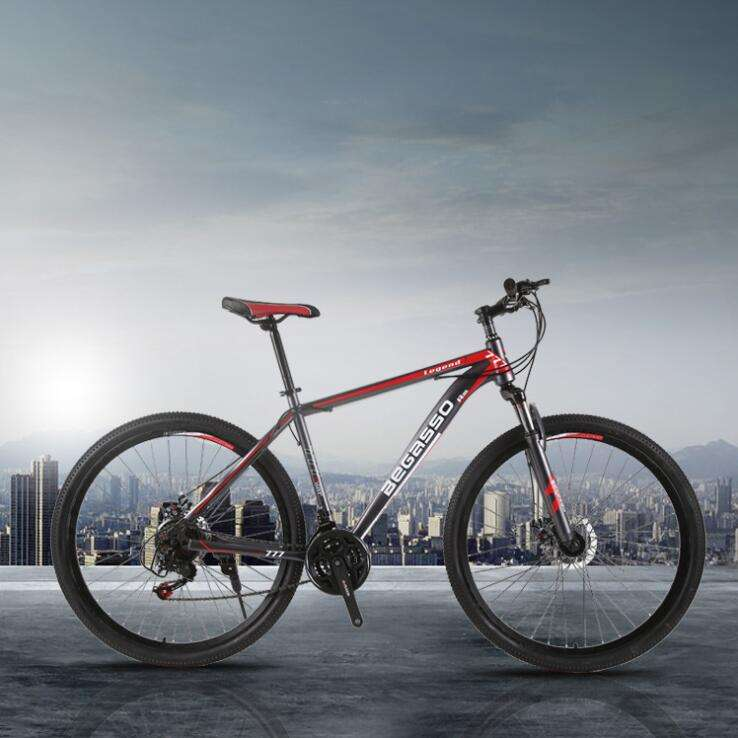 Mountain Bike New Folding 21 Speed 26 Inch Carbon Max Men Black Green Red White Racing Steel