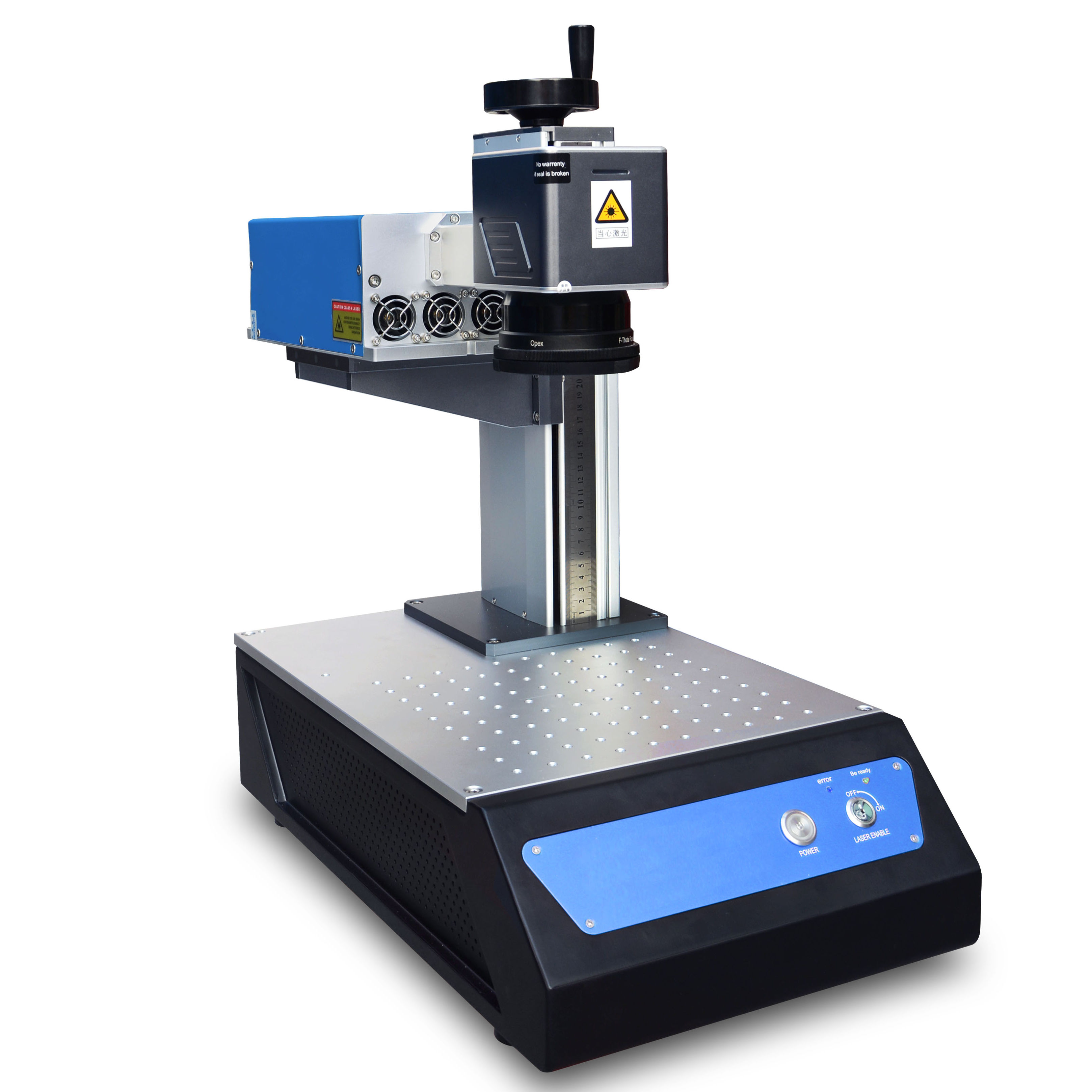 Desktop mini uv laser engraving machine metal glass ceramics all-purpose precision cold light air cool uv laser marking machine