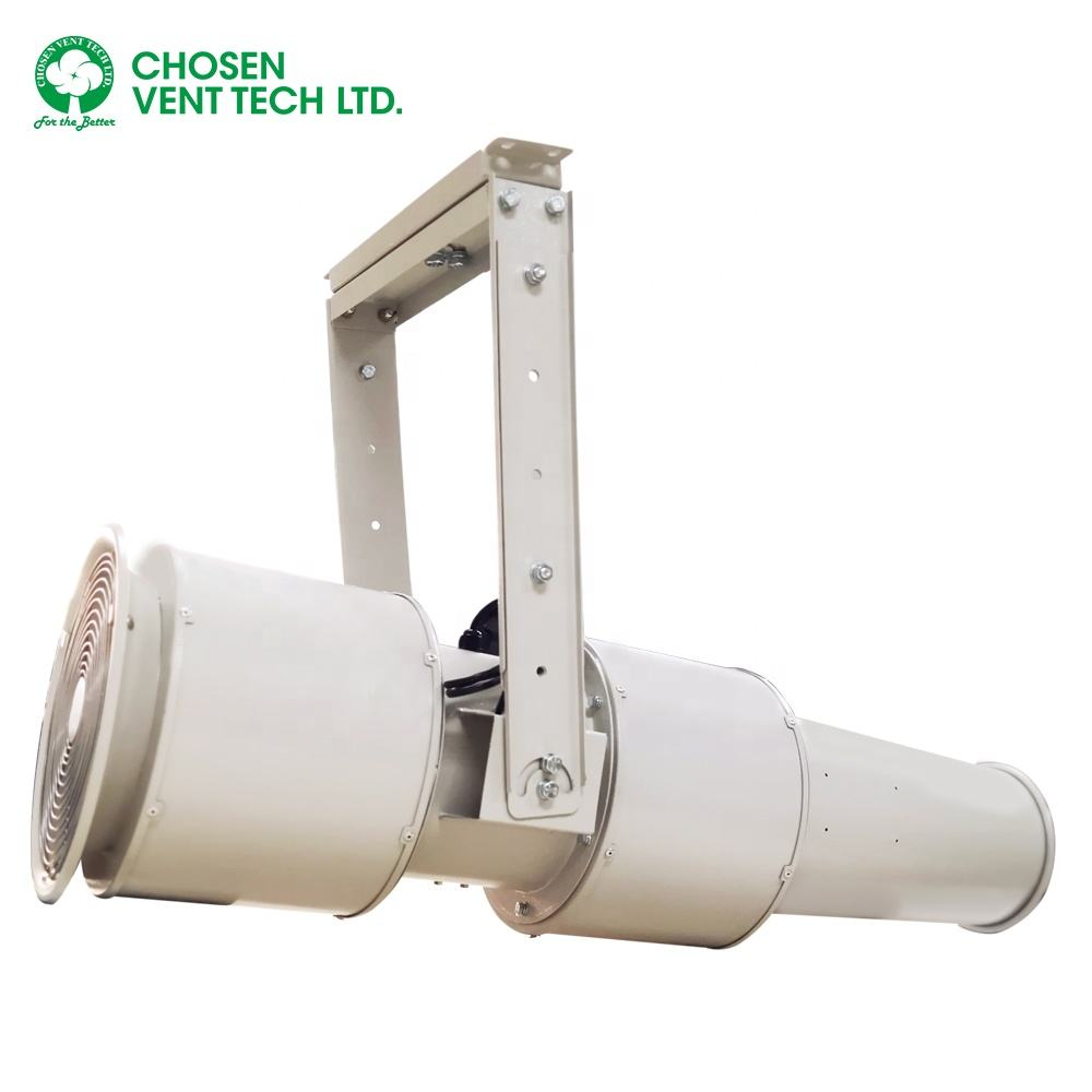 Commercial ventilation fan tunnel ventilation jet fan for construction