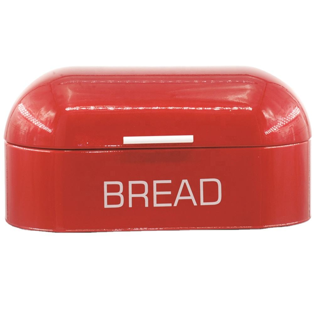 11.5L Capaciteit Retro Vintage <span class=keywords><strong>Brood</strong></span> Box gepoedercoat Metalen Case Keuken <span class=keywords><strong>Brood</strong></span> Opslag Bin
