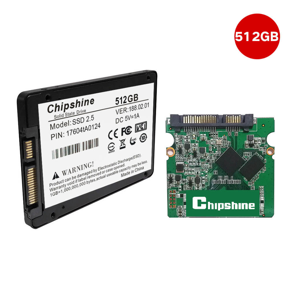 2258H Master Chipshine SATA 3 2.5 inch Interne Solid State Drive Harde Schijf SSD Notebook PC SSD 512GB