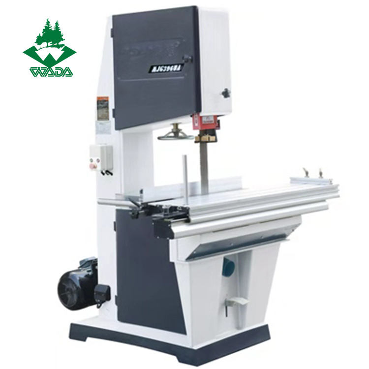 Mechanical good quality durable wood cutting band saw machine used for cutting