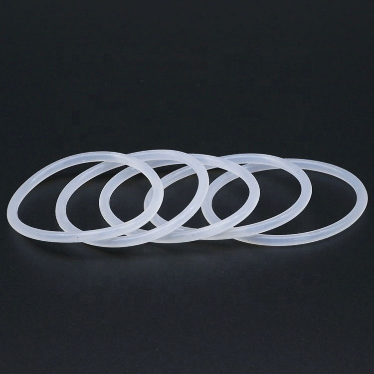 Silicone O Rings Food Grade Heat Resistance Colored Clear Silicone O-Ring Rubber O Rings