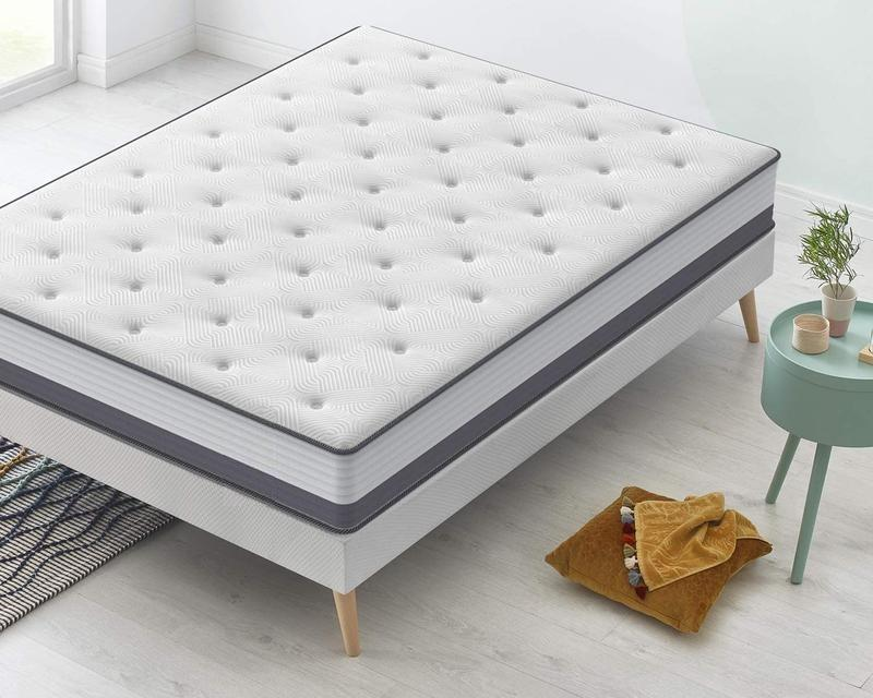 Luxury 5 star Hotel mattress pocket spring mattresses soft and comfortable memory foam matelas super king size