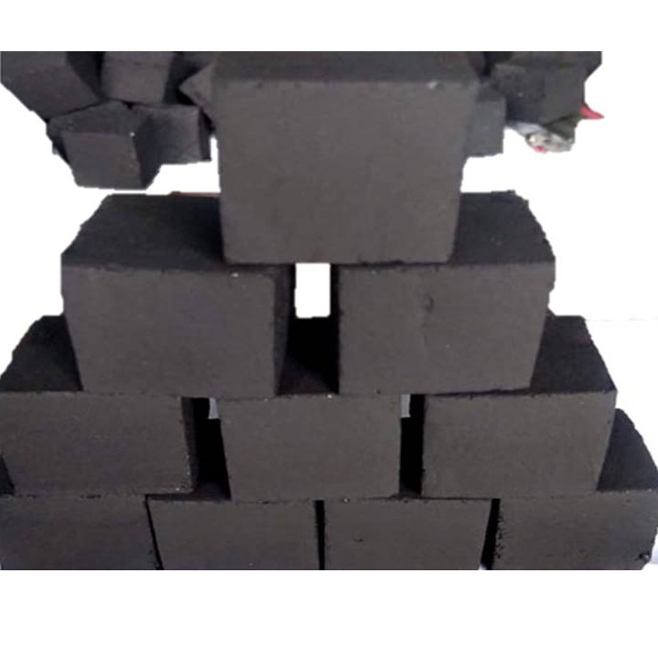 Wholesale factory price coconut shell charcoal cubes