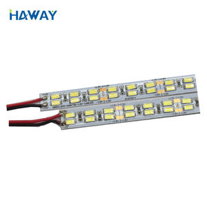2019 new popular 5630 Double row 168leds/m 6500K super brightness LED Rigid Bar Strips