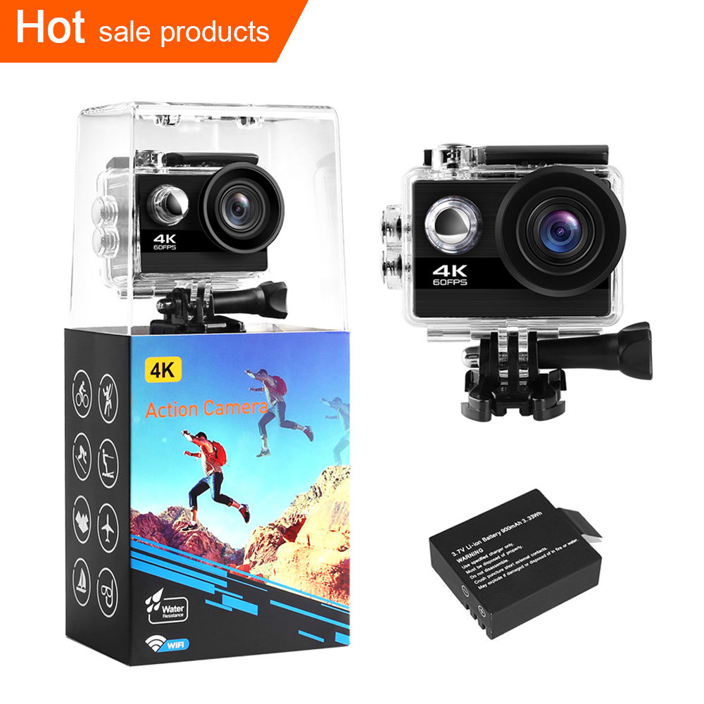 New arrivals 2020 amazon Original eken h9r 4K 60fps youtube action camera 4k waterproof wifi video camera