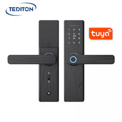 WiFi Biometric Fingerprint Digital Keyless cerradura fechadura Entry tuya smart door lock