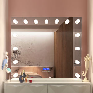 Dressing Table Light Bulbs Makeup Hollywood Vanity Mirror with Bluetooth