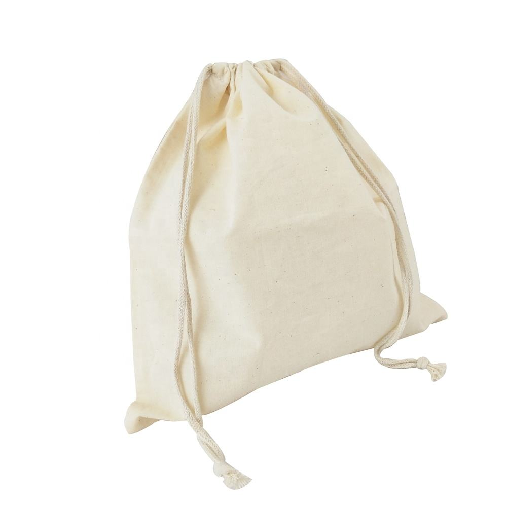 5x7 Yellow Cotton Muslin Drawstring Bags Soap Herbs~PREMIUM QUALITY BAGS ~ 50
