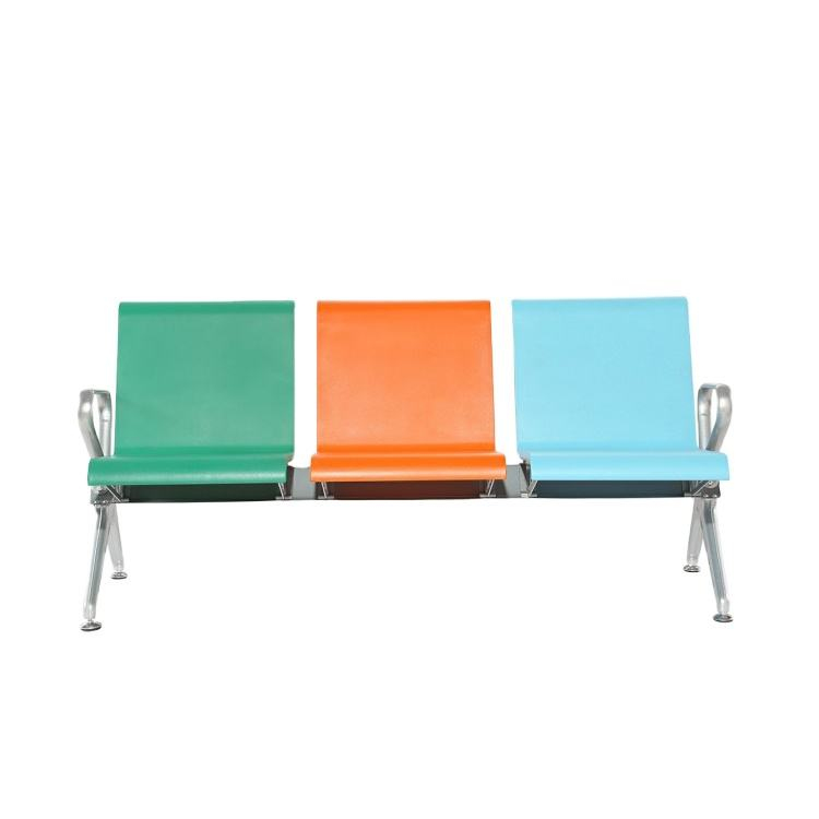 2020 High Quality PU Hospital Airport 3-Seater Waiting Chair W9804P-3