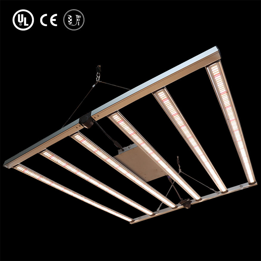 2020 latest generation foldable driver bulit-in frame Grow light led full spectrum led strip module