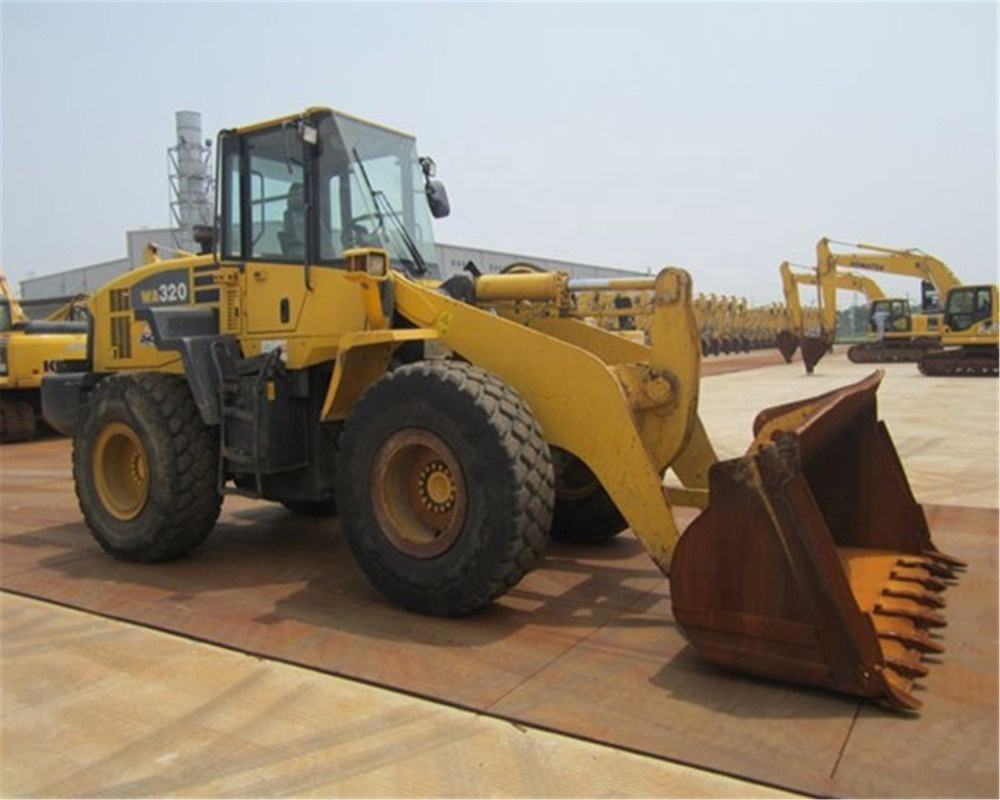 Used Komatsu loader WA320 wheel loader Japan Komatsu WA380-5 wheel loader for sale