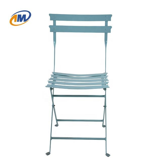 Chair And Table Set Colorful Metal Outdoor Folding Chair For Garden/Patio/Camping