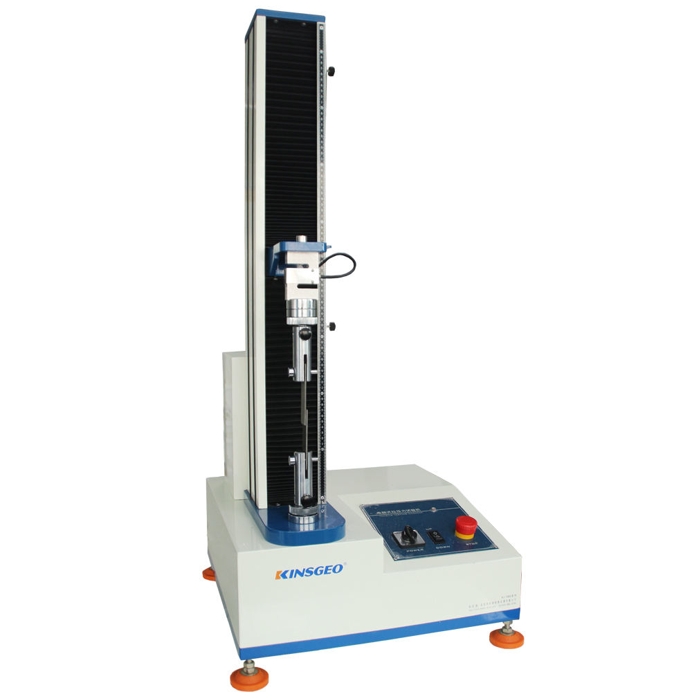 Universal steel tensile testing equipment single column machine servo