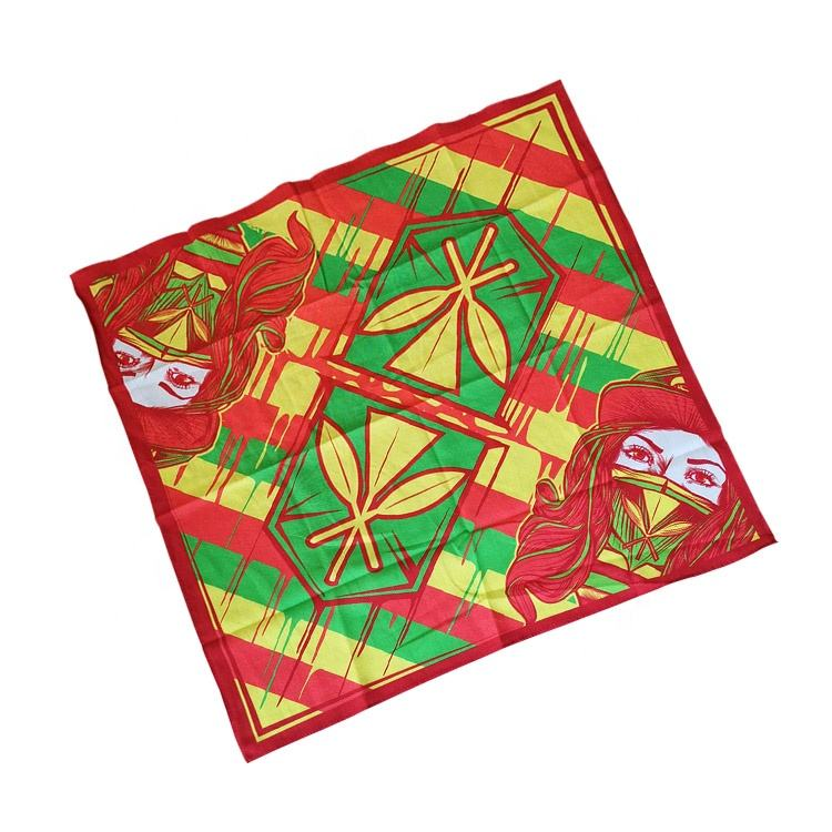 Cheap Wholesale Digital Print Square Buy Cotton Bandanas