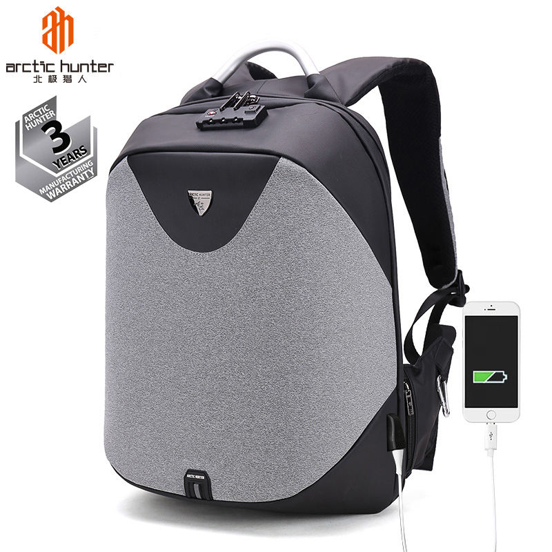 Custom Logo OEM Back Pack Wholesale Anti-theft Backpack with TSA Lock Mochila Antirrobo Anti Theft Smart Laptop Backpack Bag