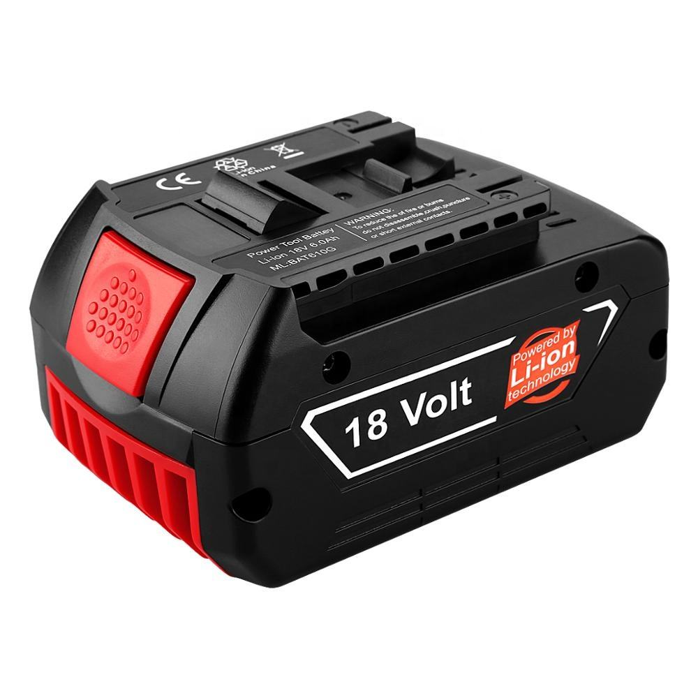 Replacement Li-ion 18V 4.0Ah Battery Pack for Bosch 18V Power Tools Battery