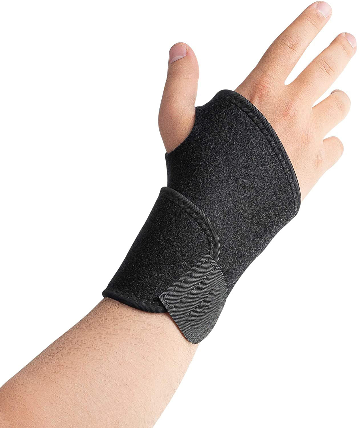 Breathable Adjustable Gel Wrist Support Brace Thumb Support Reversible Stabilizer Splint Wrist Support Brace Universal Neoprene