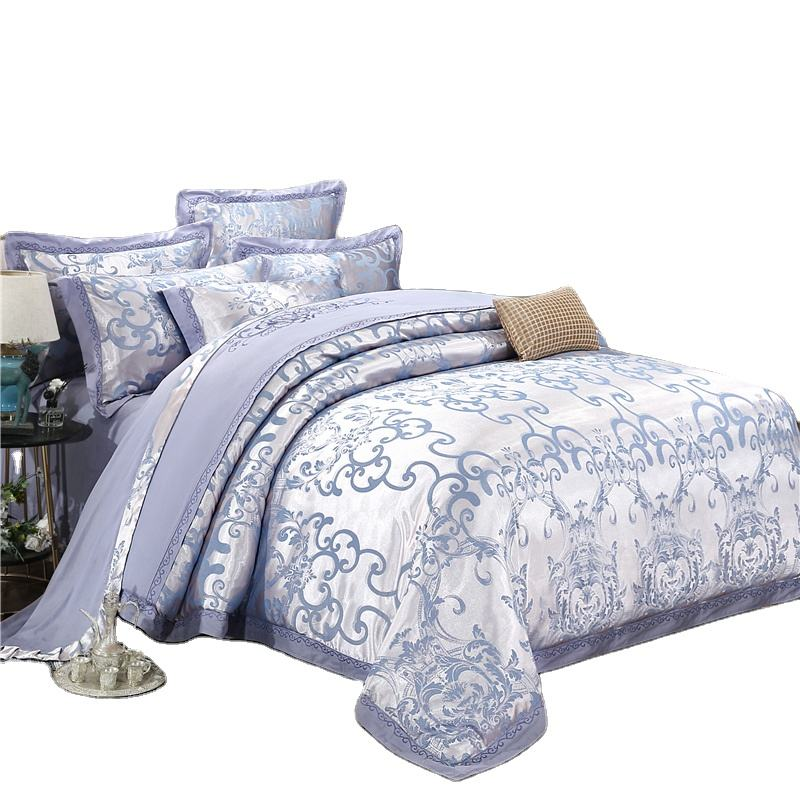 Home textile 100% cotton bedding comforter sets luxury bedding set in Bedding Set