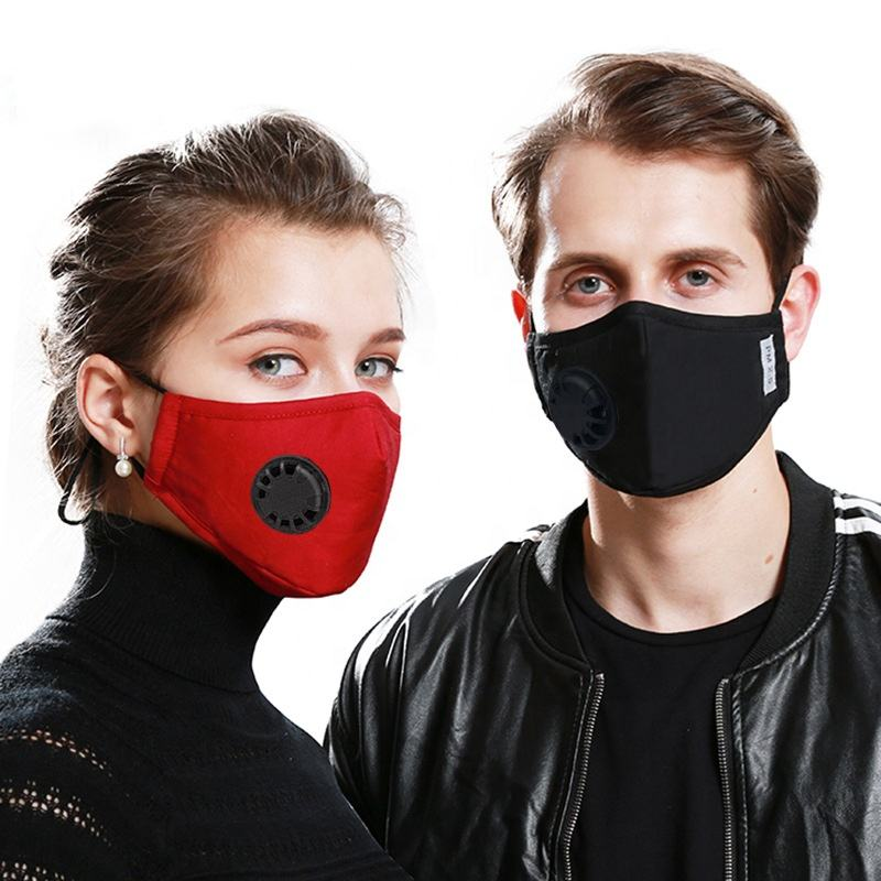 DCFM-0314 New Design Reusable Face Masks with Adjustable Earloops 3 Ply Mask with Shield