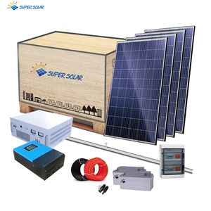 Super Solar off-grid photovoltaic 30kw solar power home system