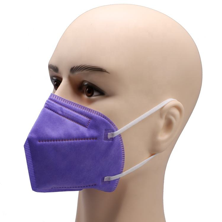 High Quality Disposable Fold Face Respirator Mask ffp3 En Standard