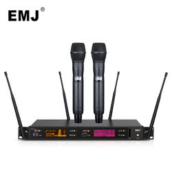Top Quality True Diversity Digital Wireless Microphone System Professional Performance Microphone Digital Pilot System