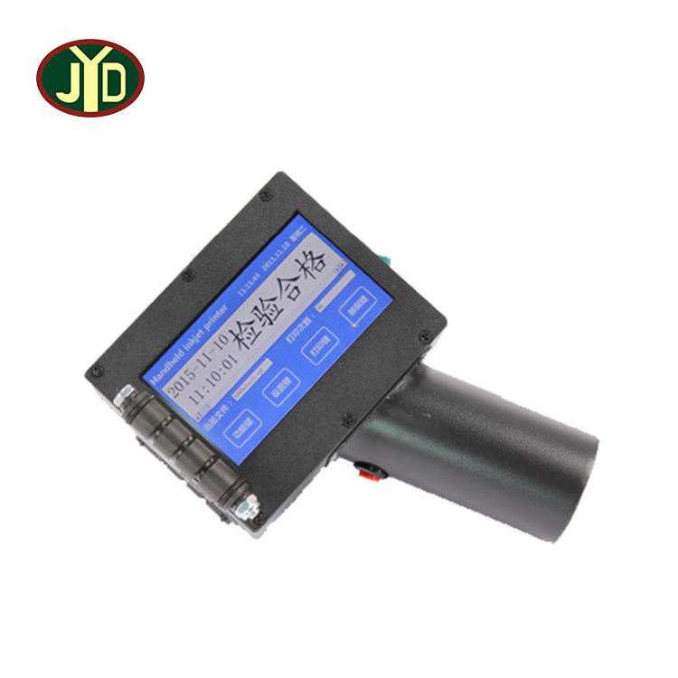 JYD Manufacturer Factory Sales Portable Lnkjet Date Coder Printer PVC Pipe Lnk Jet Printer Smart Handheld Lnkjet Printer