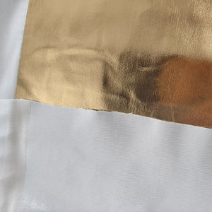 HOT Gold/Silver Coated Knitted Fabric Reflective Fabric for Photography