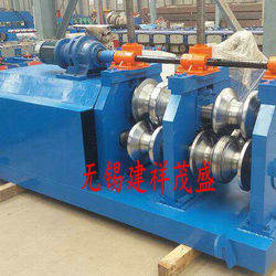 Guard rail arc bending machine