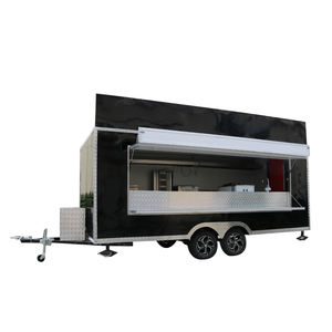 Concessie Stand Trailer Mobiele Keuken Mobiele Koffie Voedsel Truck Europa