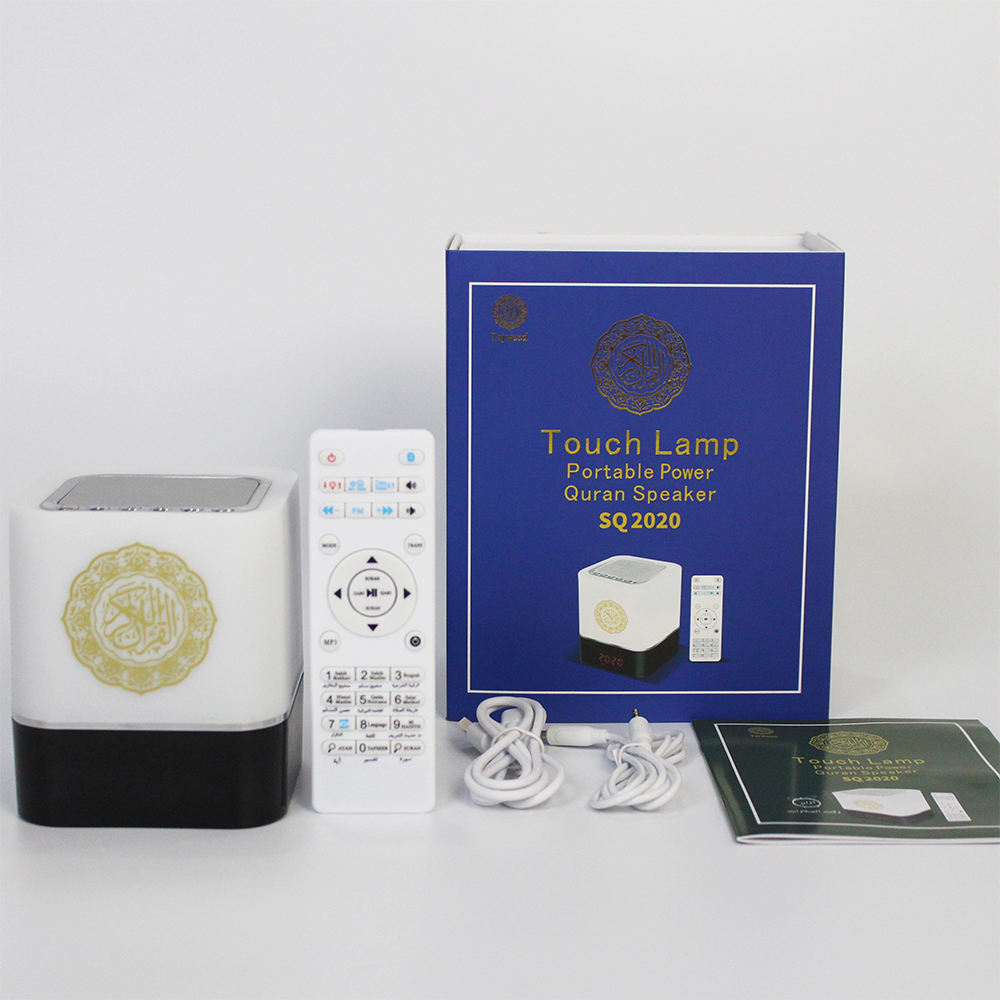 Pabrik Harga Display LED Touch Lampu <span class=keywords><strong>Quran</strong></span> Player Speaker untuk Muslim Learn <span class=keywords><strong>Quran</strong></span> Azan Clock
