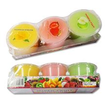130gx3cups Moway's Mix Fruit Flavoured Pudding Cup