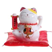 Lucky Cat Maneki Neko Porcelain Lucky Cat And Creamic Fortune Cat For Sale