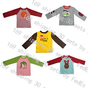 Baby Boy Outfits Wholesale OEM Fall Toddler boutique factory manufacture