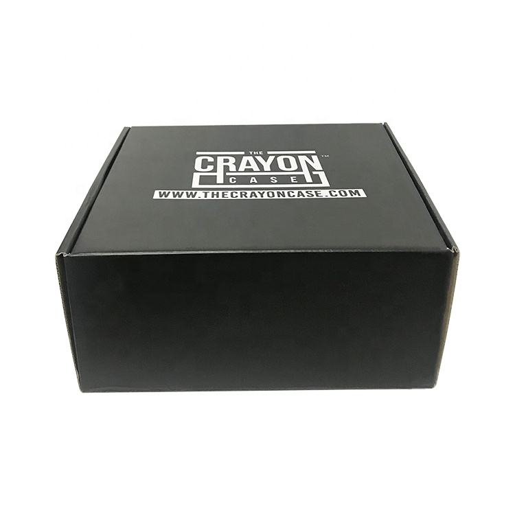 Trade Assurance High Quality Hair Extension Packaging Custom Logo Black Mailer Folding Shoe Box Packaging