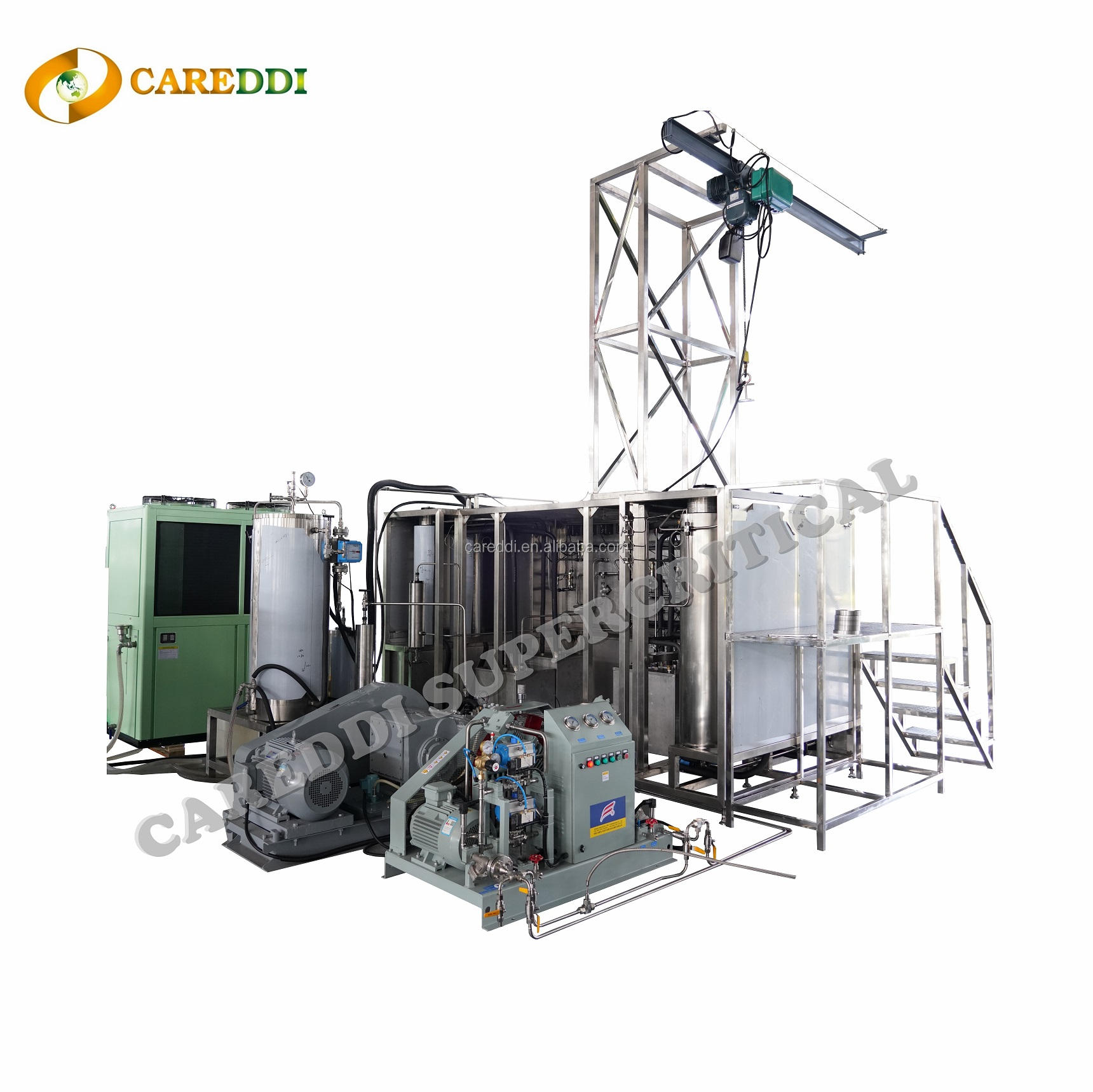 Extracting Machine Factory Price Hemp Supercritical Co2 Oil Extraction Machine