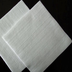 200g PP PET Non Woven Short Fiber Geotextile For Environmental protection.