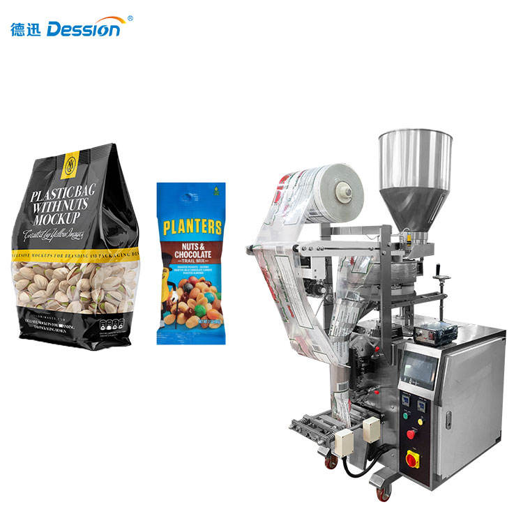 Easy to Operate Nuts / Dry Fruit / Snacks Sachet Packing Machine Price