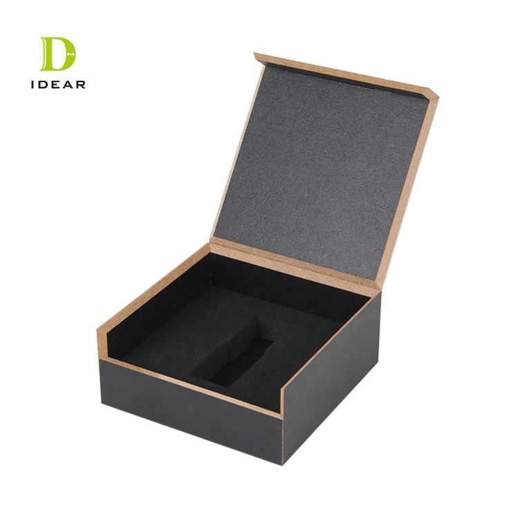 Packaging Customization Small Wood Boxes Natural Blank Small Mdf Craft Gift Wood Box