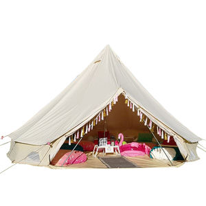 Hot selling ger camping tents Mongolian yurts 5m bell tent