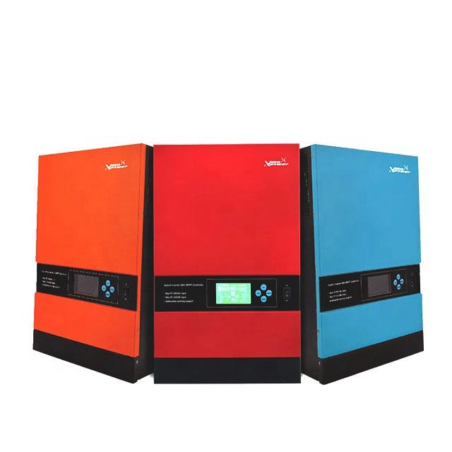 Vmaxpower HF3KW & 5KW Inverter With MPPT 10kw Hybrid Solar Power System Operation Without Battery Connected hybrid inverter